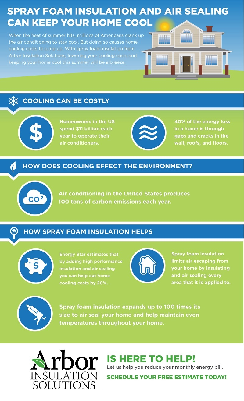 Spray Foam Insulation Atlanta Infographic
